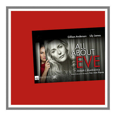 ALL ABOUT EVE with Gillian Anderson, 2019, UK, High-Quality DVD, FREE SHIPPING
