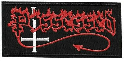 Possessed (band) Embroidered Patch Iron-On Sew-On fast US shipping