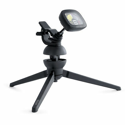 Ernie Ball CradleTune portable clip-on tuner and removable tripod neck
