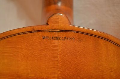 Early 20th century violin, GEIGE, VIDEO - ANTIQUE  Vuillaume copy