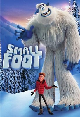Small Foot (DVD) REGION 1 DVD (USA)  BRAND NEW & SEALED