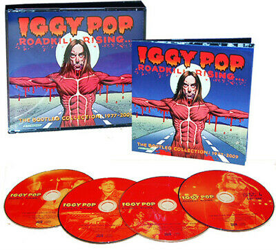 Iggy Pop - Roadkill Rising: The Bootleg Collection 1977-09 (CD Used Very Good)