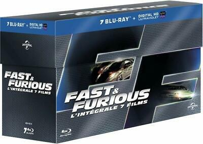 Cofanetto 7 Blu Ray - Fast And Furious - Integrale 7 Film