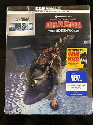 How To Train Your Dragon: The Hidden World 4k UHD Steelbook Set - In Hand!