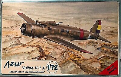 Azur 1/72 VULTEE V-1A Spanish Republican Civil War Bomber