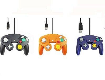 For Gamecube Controller PC USB Wired Gamepad Joypad Joystick For Nintendo New