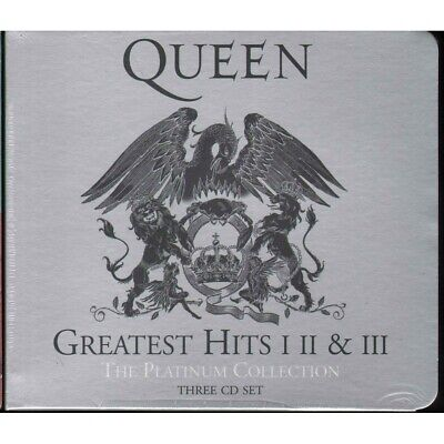 Queen CD Greatest Hits I II & III (the Platinum Collection) Island Sealed