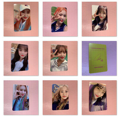 Weki Meki Official PHOTOCARD Only 2nd Single LOCK END LOL Photo Card LOCK VER.