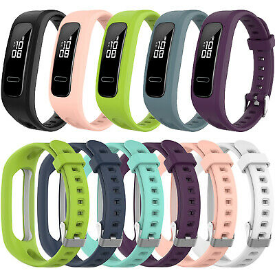 Silicone Wristband Strap Replacement Bracelet For Huawei Honor 4 Running Band 3e