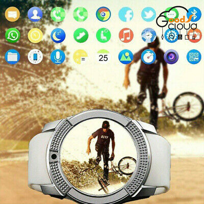 V8 Bluetooth Smart Watch Waterproof Touch SIM Camera Wrist Watch for Android/IOS
