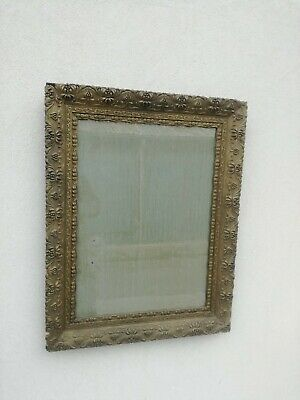Antique Mirror Dressing Table Mercury '800 Wooden Frame and Paste Nineteenth