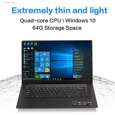 """2574 NEW 15.6"""" Touch Screen Intel Quad Core HDD 4GB DVDRW Business Laptop Win 10"""