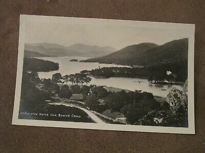 G.P Abraham Postcard - Coniston from Beacon crags - Cumbria / Lake District