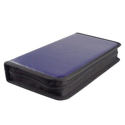 80 CD DVD Carry Case Disc Storage Holder CD Sleeve Wallet Ideal for In wt