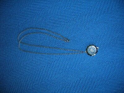 S.O.S. Talisman Stainless Steel Pendant. 60cm Chain Good Condition. FREE POSTAGE