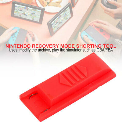 Nintendo Switch RCM Jig Keyring joycon mod for recovery mode Hack-Load Linux^^