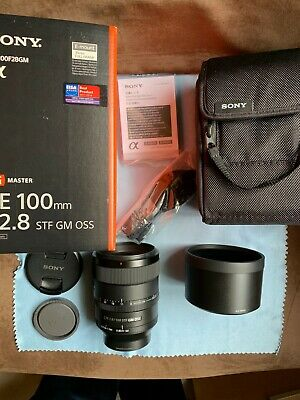 Sony FE 100mm f/2.8 - STF GM OSS - SEL100F28GM - Impecable!!!