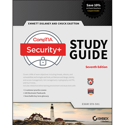 CompTIA Security+ Study Guide Exam SY0-501 7th Edition