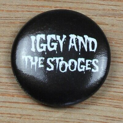 "Iggy (Pop) And The Stooges Band Logo Official 25mm (1""') Pin Badge"