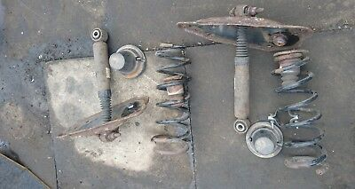 Citroen C4 Grand Picasso Rear Spring Suspension Air Conversion Kit