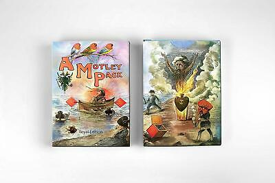 Motley Royal Playing Cards Rare Limited Edition Fine Art Deck not Bicycle