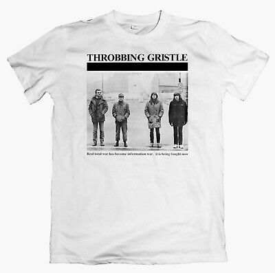 THROBBING GRISTLE 'Berlin' T-shirt, Psychic TV, Coil Nurse With Wound Current 93