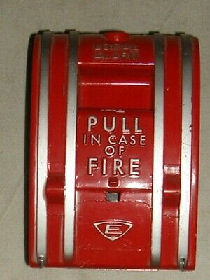 Edwards #270 Local Fire Alarm Pull Station (NO Original Breakglass) Vintage