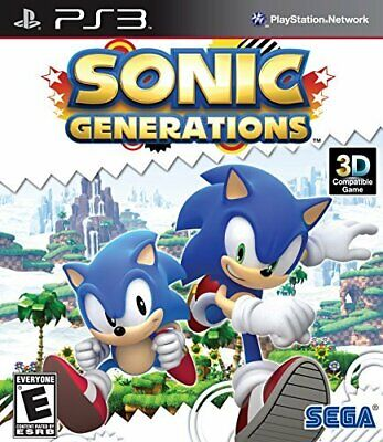 Sonic Generations PS3 US Version