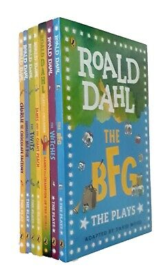 Roald Dahl Plays for Children Collection 7 Books BFG Twits Witches Charlie New