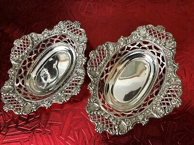 Sterling Silver Dishes - William Hutton & Sons - London - 1912