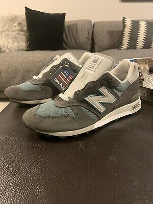 7e6e7bcaf27a New Balance 1300 Made In USA M1300CLS Heritage Charcoal Grey Gray Mens Sz  10.5