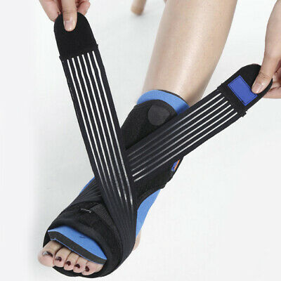 Fasciite Plantaire Attelle de Pied Support Orthopédique Sangle Compression