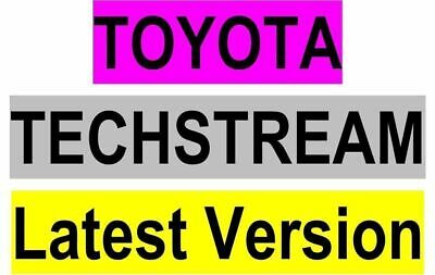 06/2019, Toyota TechStream  V14.10.033 for Mini VCI  latest version