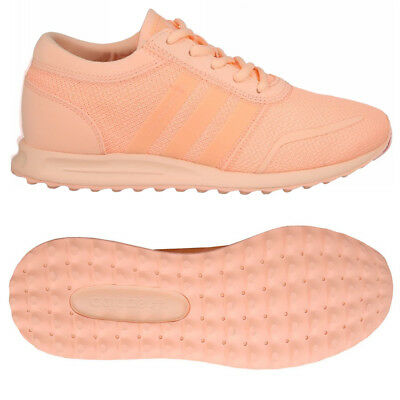 0b85dc27f7 Adidas Originals Junior Los Angeles Baskets Rose Enfants Femmes Filles Pe  Gym