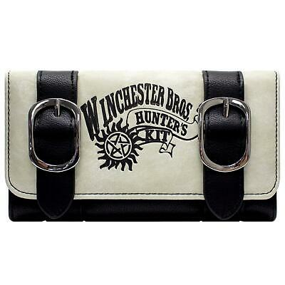 Official Supernatural Winchester Bros Hunters Kit Coin Tri-Fold Purse *SECOND*