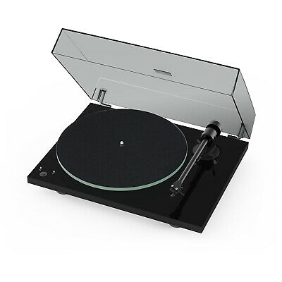 Project T1 Phono SB Piano Black/ OM5e inkl. Ortofon OM5E MM