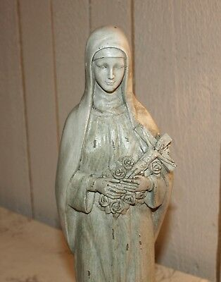 Clayre & Eef Madonna Maria Hl. Theresia pastell Heiligenfigur 35 cm shabby