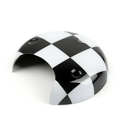 Black Checkered Pattern Tachometer Panel Cover Pour MINI COOPER R56 R58 R60 AF