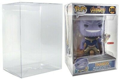 Malko 10 Inch Funko Pop Protector Display Case for Vinyl Figures 2 Pack