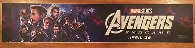 AVENGERS: ENDGAME - Movie Theater Poster / Mylar Small Version 2x12
