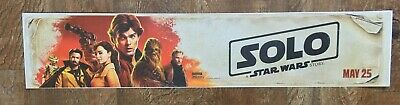 ⭐ SOLO: A STAR WARS STORY - Movie Theater Poster / Mylar Small Version