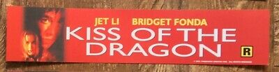 Kiss Of The Dragon - Movie Theater Mylar / Poster - Small Box Office Version
