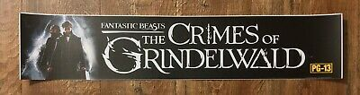 ⭐ Fantastic Beasts 2 - Crimes Grindelwald - Movie Theater Poster / Mylar Small