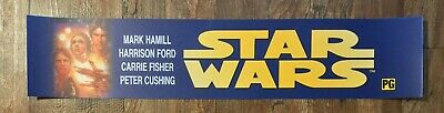 ⭐ STAR WARS: Special Edition - A New Hope - Movie Theater Poster Mylar - Small