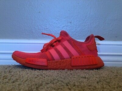 cheap for discount f4710 b43ee ADIDAS NMD R1 Triple Solar Red S31507 Size 9 RARE Hard to Find