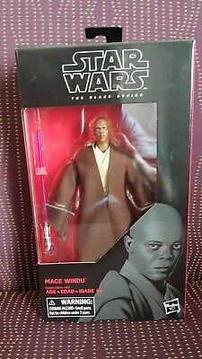 Star Wars the Black Series Mace Windu 6 Inch Action Figure #82 MIB