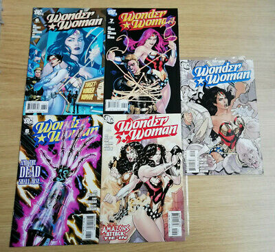 Wonder Woman 6 7 8 9 and 14 VF published in 2007 by DC comics Terry Dodson