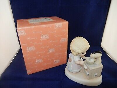 """2005 Precious Moments Limited Edition """"Mixing Up A Bright Tomorrow - With Box!"""