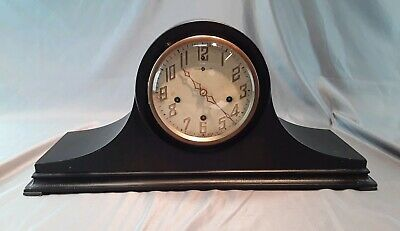 Antique HARKNESS NEW HAVEN WESTMINSTER CHIME 8 DAY MANTLE CLOCK 1918-23 patents