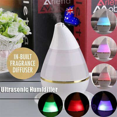LED Aroma Aromatherapy Diffuser Ultrasonic Essential Oil Air Humidifier As